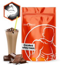 Excelent whey mass  4kg |Chocolate