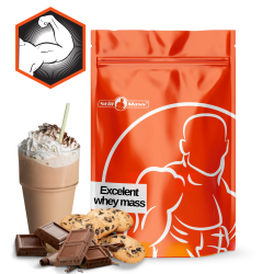Excelent whey mass  4kg |Chocolate cookies