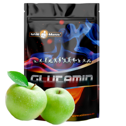 Glutamín NEW 1000g |Green apple