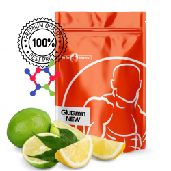 Glutamin  NEW 500g |Lime/lemon