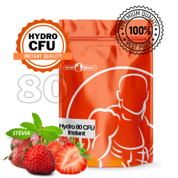 Hydro 80  CFU Instant 2kg |Strawberry stevia