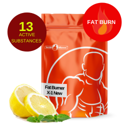 Fat Burner X-1 New 0,6kg |Lemon