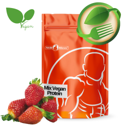 Mix vegan protein 1 kg |Strawberry
