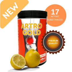 Artro gold lemon  750 g
