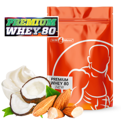 Premium whey 80  1,2 kg |Almond coconut cream