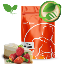 Rice protein stevia 1kg |Cheesecake/strawberry