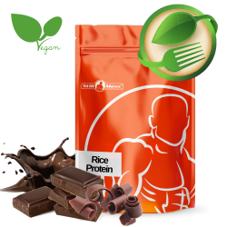 Rice protein stevia 1kg |Doublechocolate