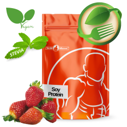 Soy protein isolate 2,5kg |strawberry stevia