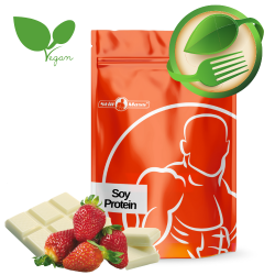 Soy protein isolate 2,5kg |Whitechoco/strawberry