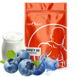 Whey 80 instant 2,5kg |Blueberry/yougurt