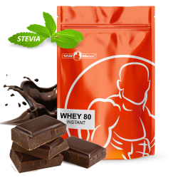 Whey 80 Instant STEVIA new 1 kg |Chocolate