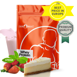 Whey protein 3 kg  |Cheesecake/strawberry stevia