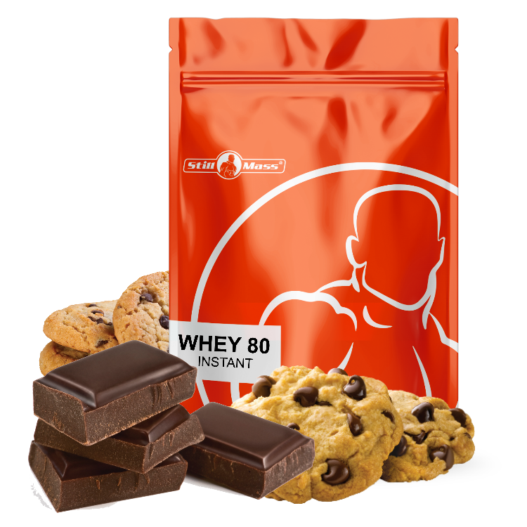 Whey 80 instant new 1kg Choco/cookies